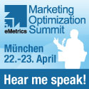 eMetrics Summit M�nchen: Web Analysen